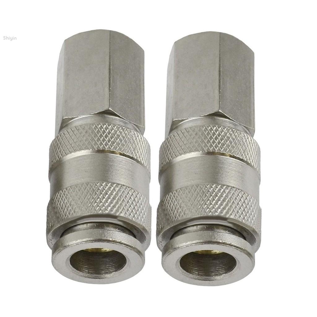 5Pcs 1//4/'/' Air Line Hose Compressor Fitting Coupler Connector Quick Release