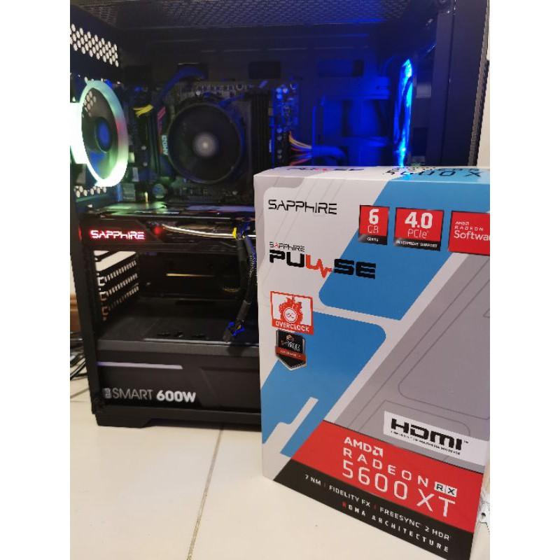 คอมเซ็ต 5600XT  และ R5 2600 Ram 16GB
