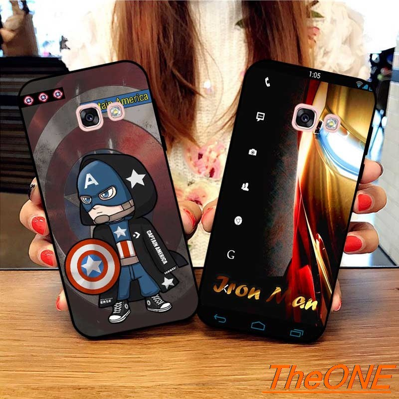 Theo Casing Samsung A3 A5 A6 A7 A8 A9 Pro Star Plus 2015 2016 2017 2018 HMWRO Pattern-6 Silicon Case Cover