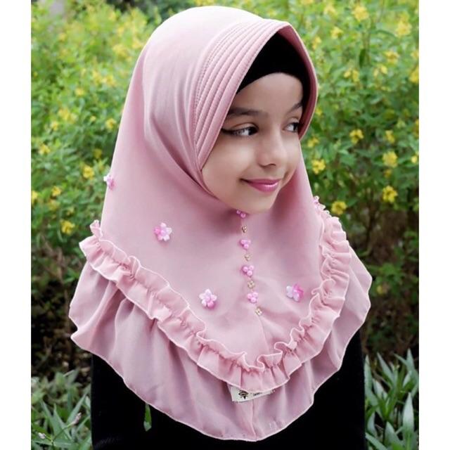 Azza Tabur Bunga (hijab Rempel Kriwil Original กระเป๋านักเรียนของเล่นสําหรับเด็ก