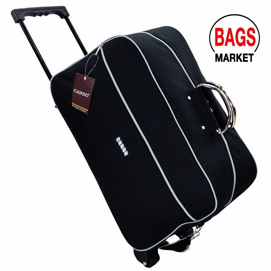 กระเป๋าเดินทางล้อลาก Luggage Cando Luggage  20 นิ้ว Code F646420-1 Black กระเป๋าล้อลาก กระเป๋าเดินทางล้อลาก
