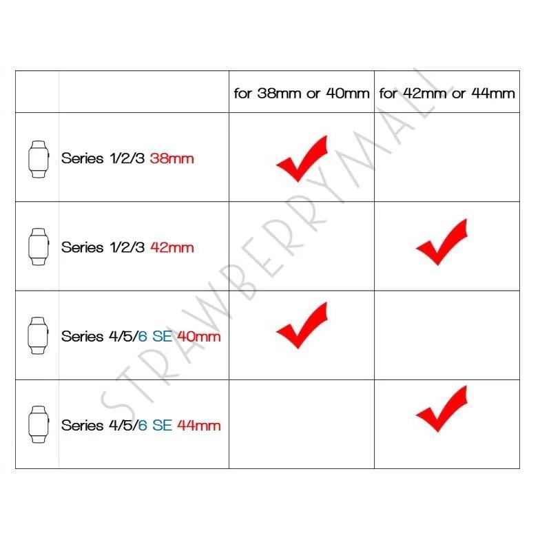 8mk2 สาย สําหรับ Apple Watch Series 1/2/3/4/5/6 SE สาย สําหรับ Applewatch iWatch สาย 38mm 40mm 42mm 4