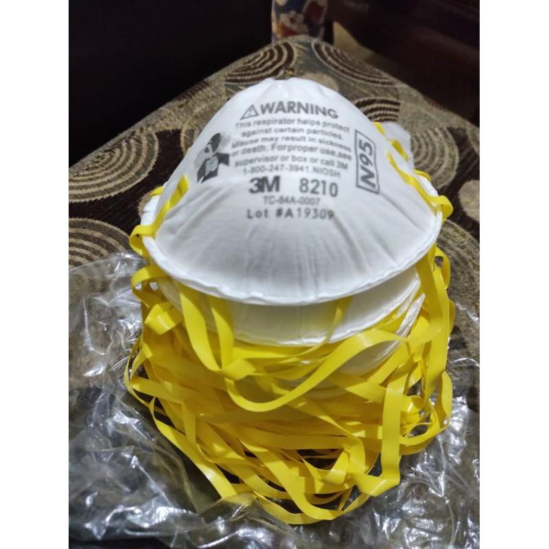 ถุงมือยางลายโฮโลแกรม (8210) (1860 Usa), (n95 3m)