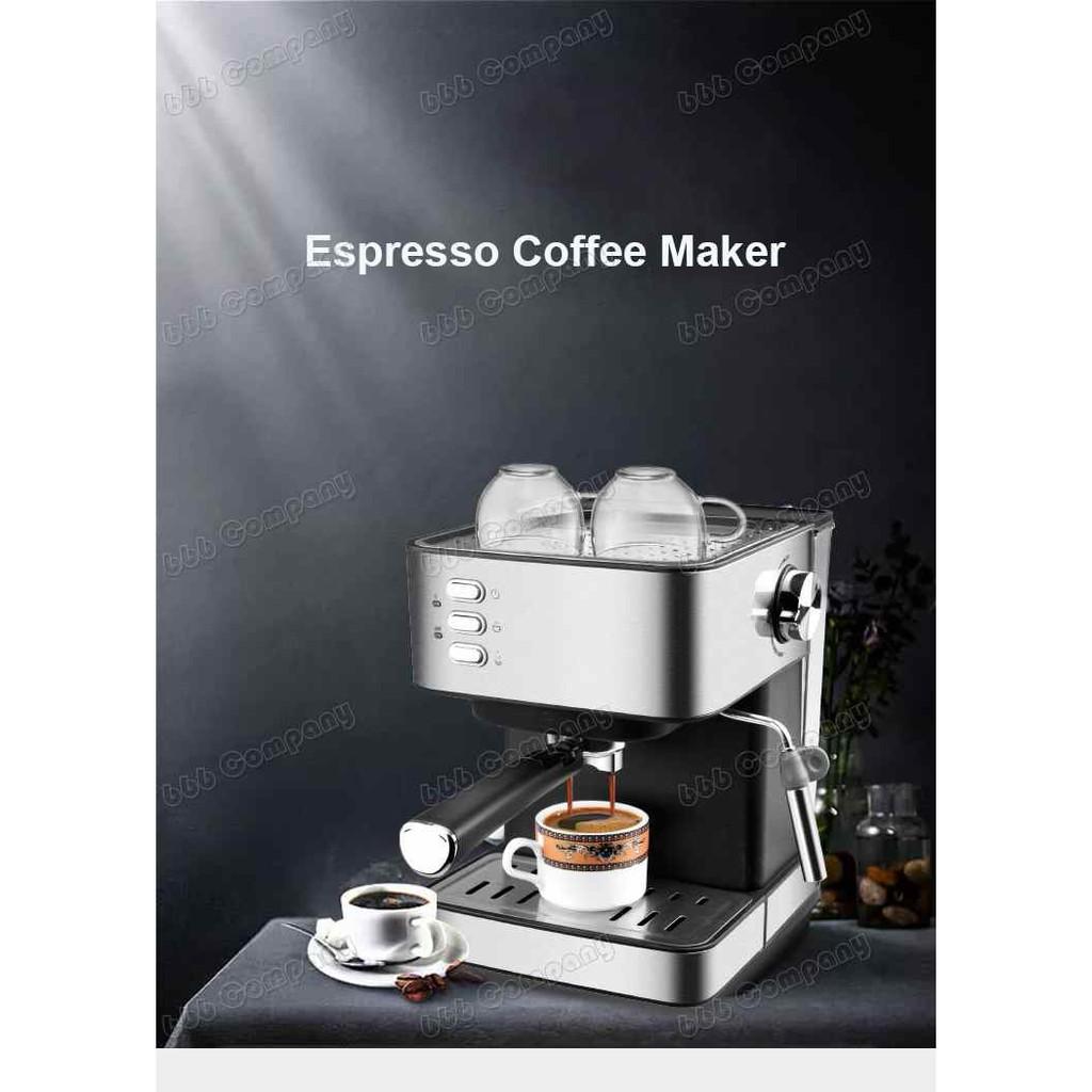 ☽❈✣เครื่องชงกาแฟอัตโนมัติ เครื่องชงกาแฟ เครื่องทำกาแฟ