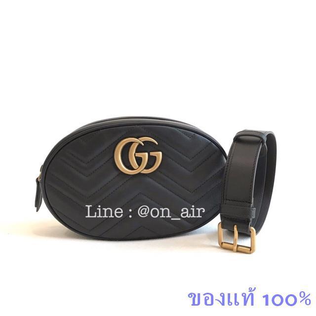 ของแท้ 100% gucci marmont belt bag เป๋าไซส์ใหญ่