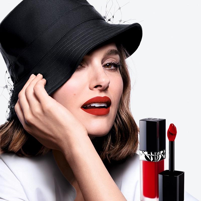 ลิปสติกแมค☸[ผลิตภัณฑ์ใหม่] Dior Dior Lit Blue Gold Locking Lip Glaze 999 558 Color Locking Makeup Lipstick