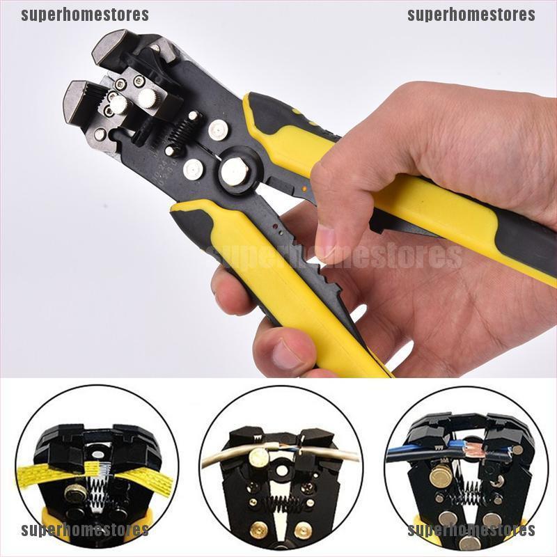 Professional Auto Wire Striper Cutter Stripper Crimper Pliers Terminal Hand Tool