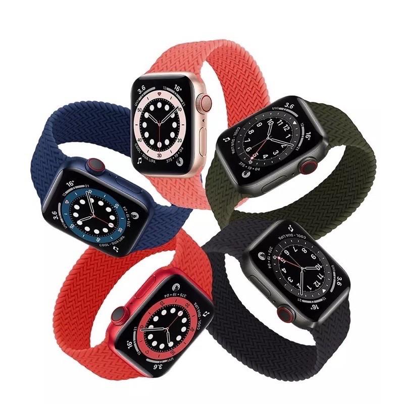 สายนาฬิกาข้อมือสายถักสําหรับ Applewatch Series 1-6)