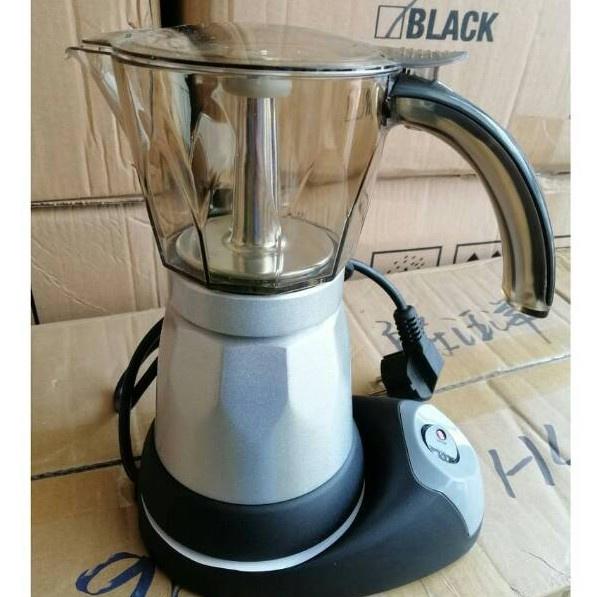 ความตกใจกำลังจะมา▣กาต้มกาแฟ เครื่องทำกาแฟ Moka pot ใช้ ไฟฟ้าพร้อมส่ง/