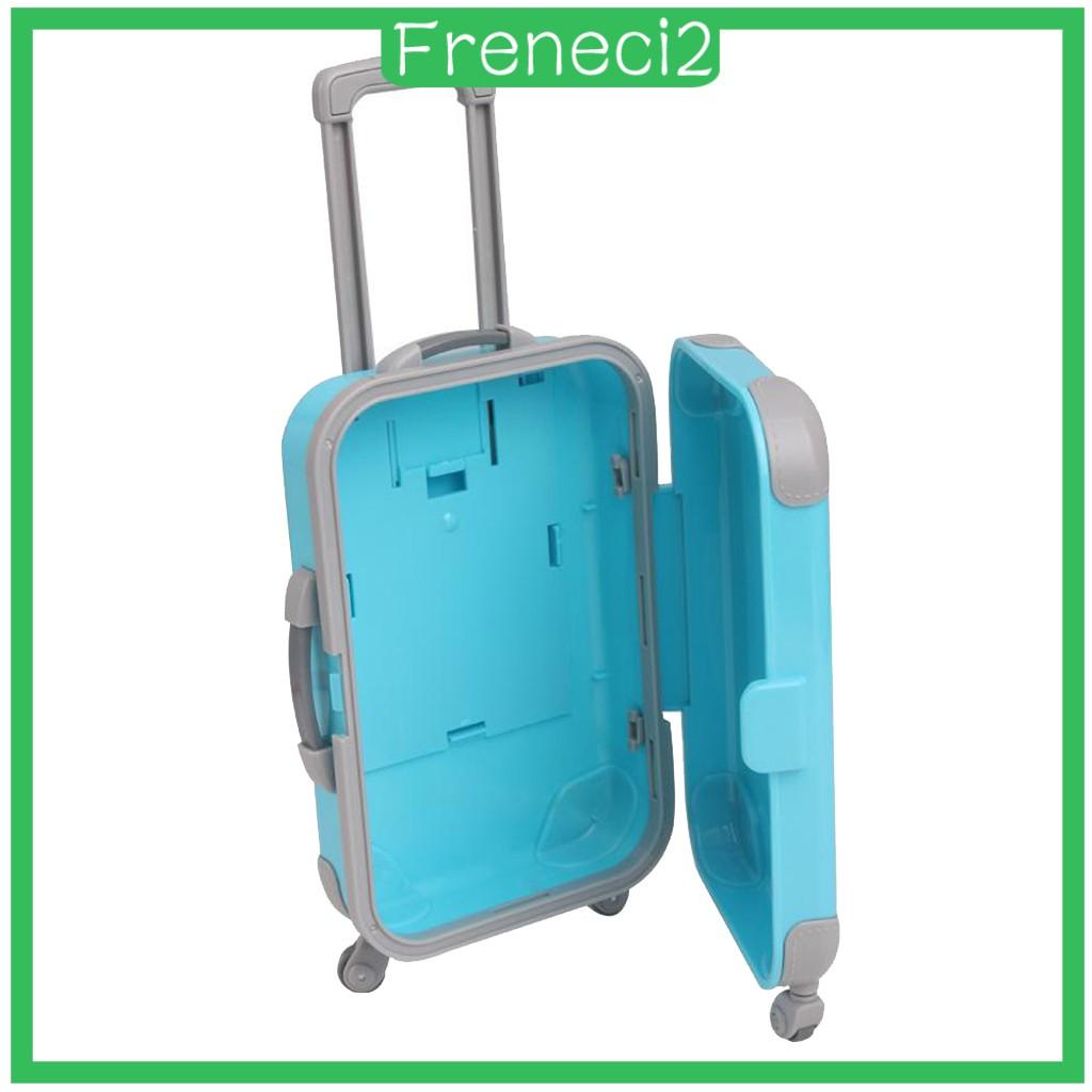( Freneci2 ) กระเป๋าเดินทางขนาด 18 นิ้วสําหรับตุ๊กตา American Doll