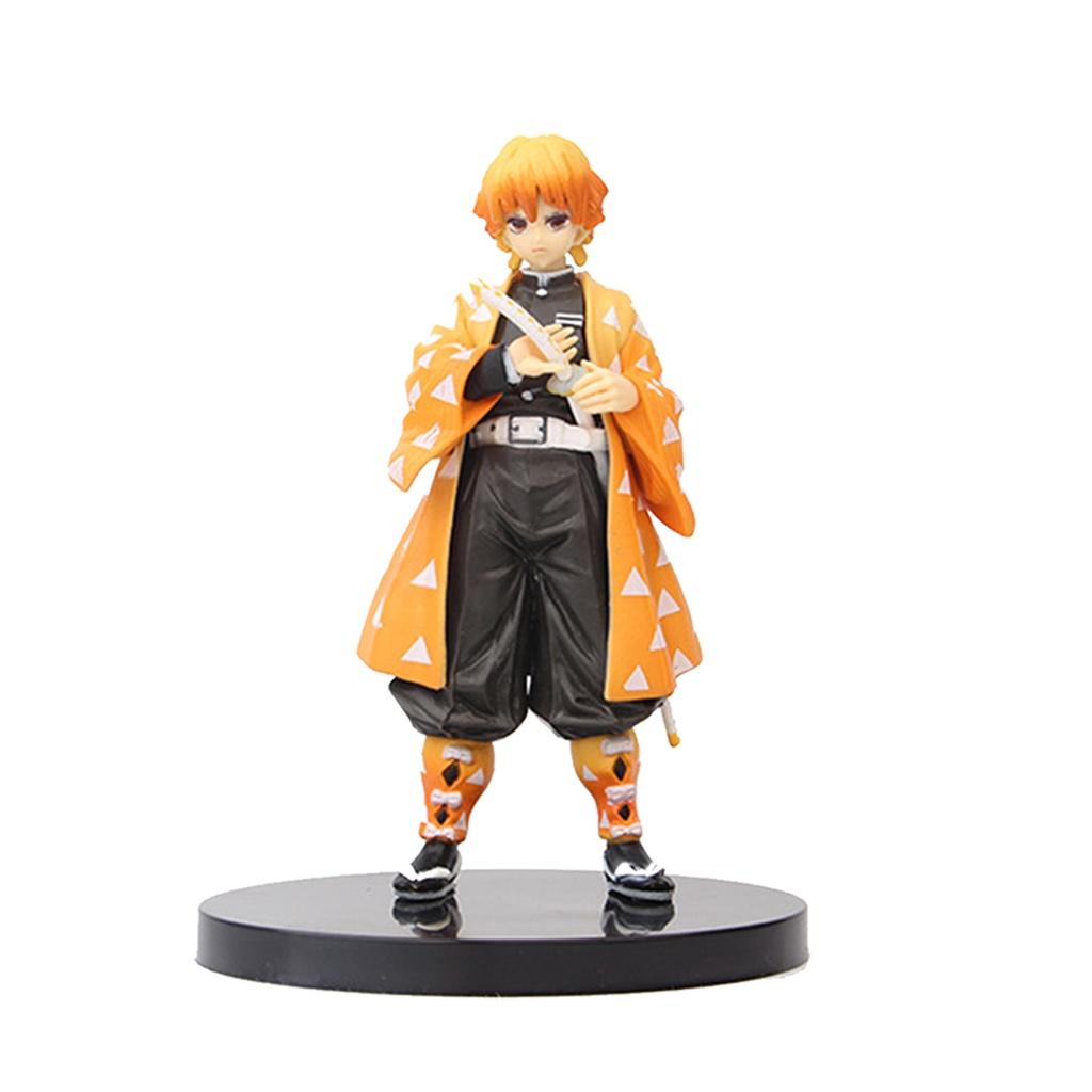 ▼Japanses Anime Demon Slayer PVC Action Figure ของเล่น Kochou Shinobu Tomioka Giyuu รุ่น Figuals ตุ๊กตาของเล่นของขวัญ