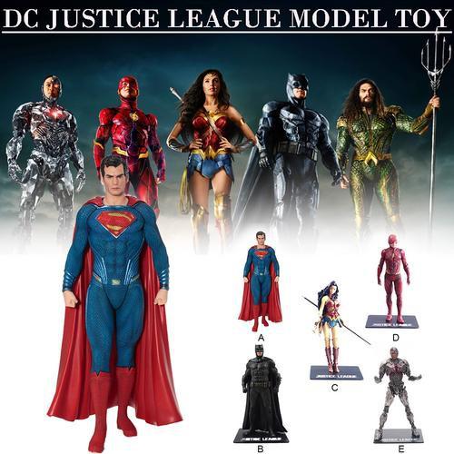 Justice League Wonder Woman Superman Figurine Statue Jouet Boxed Comic ARTFX