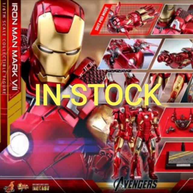 HOT TOYS - IRON MAN MARK 7 [ DIE CAST ] : AVENGERS​