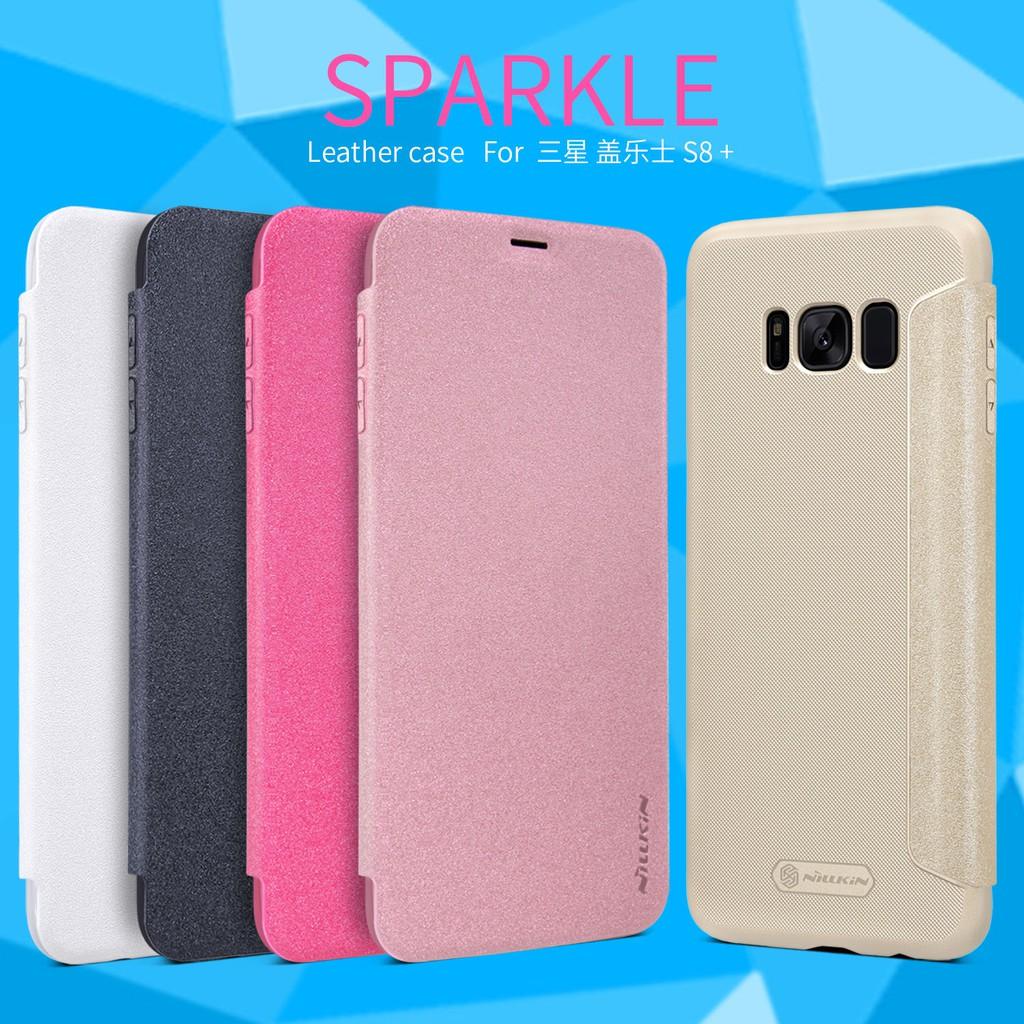 NILLKIN เคส Samsung Galaxy S8 S8 Plus รุ่น Sparkle Leather Case แท้ !!