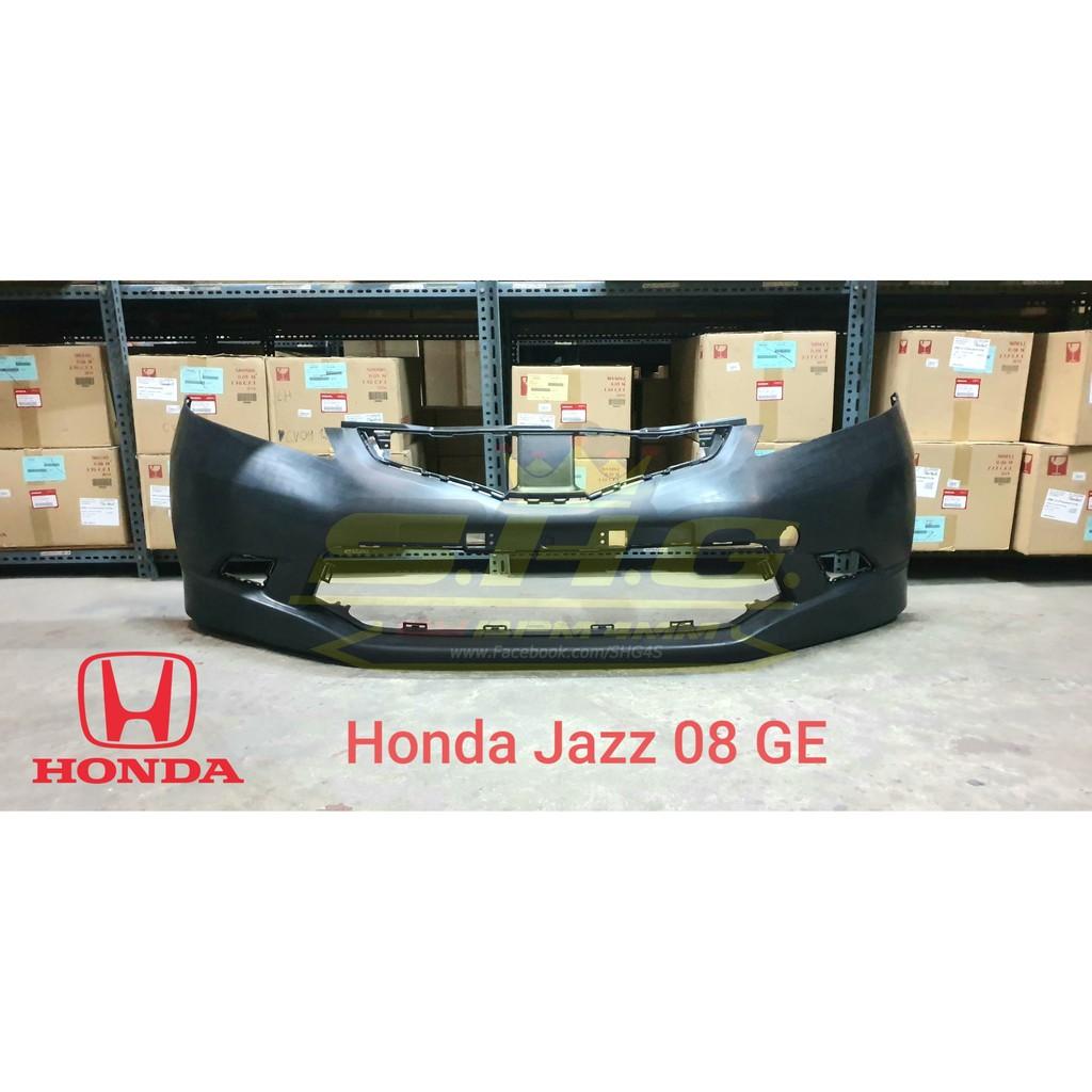 กันชนหน้า Jazz 08 GE Honda (แท้)
