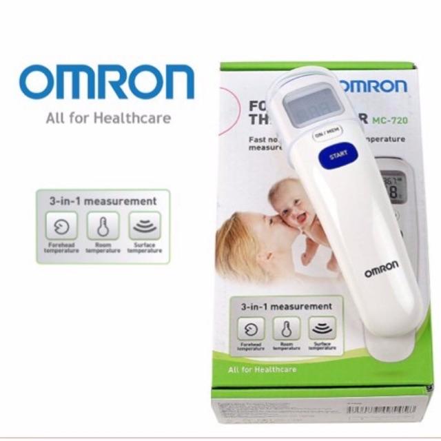 OMRON Forehead Thermometer  รุ่น MC-720