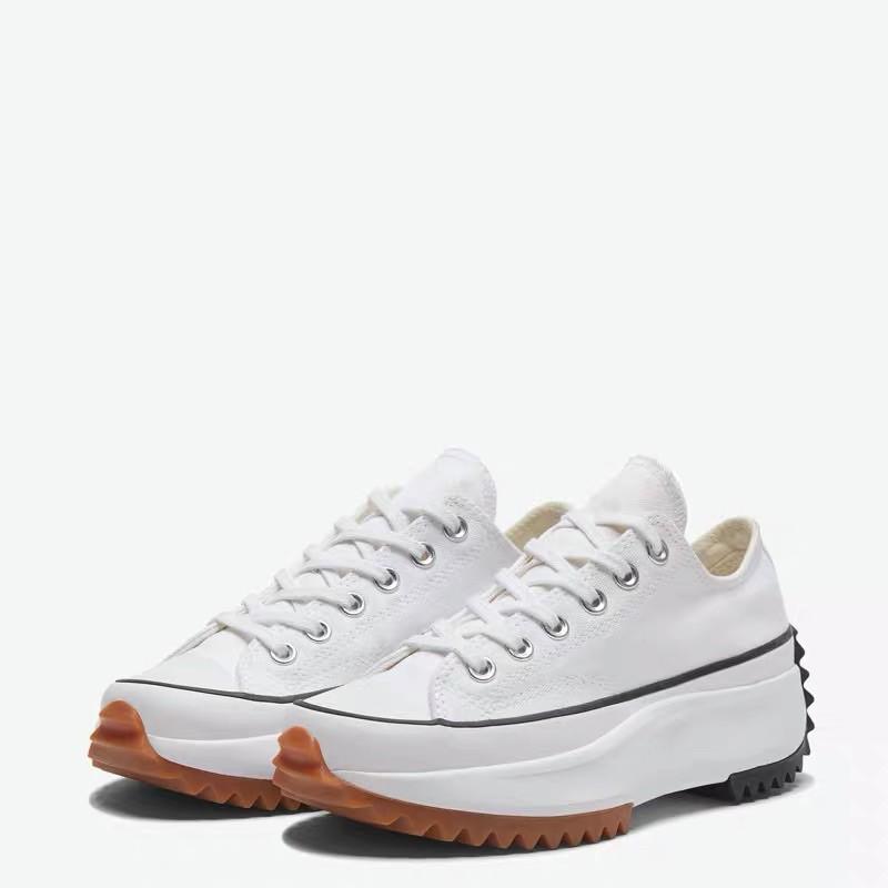 Converse Run Star hike ✨ รุ่น low ข้อสั้น สีดำ,ขาว รองเท้าคอนเวิร์สรุ่น รันสตาร์ ข้อสั่น สินค้าขอแท้✨
