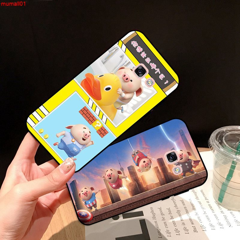 Samsung A3 A5 A6 A7 A8 A9 Pro Star Plus 2015 2016 2017 2018 HZXP Pattern-2 Silicon Case Cover