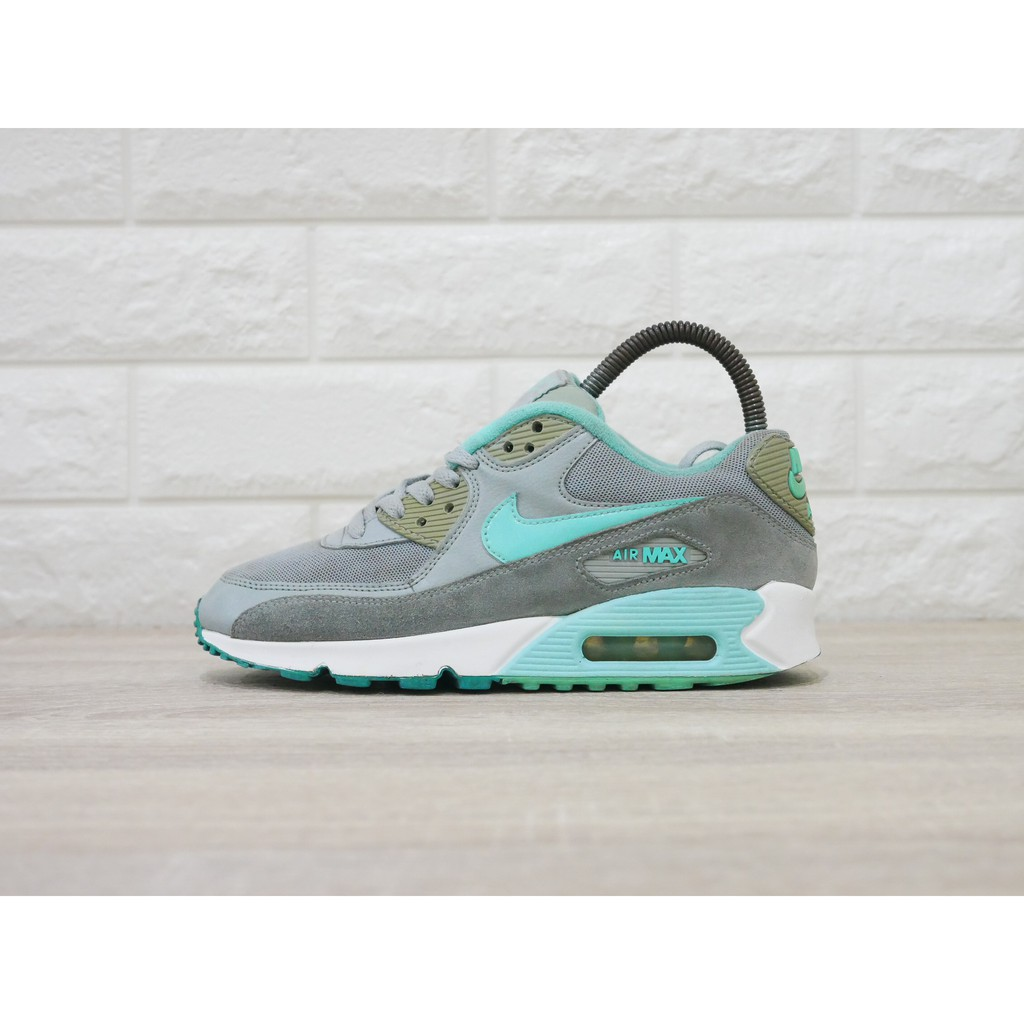 Turquoise And Grey Come Together On The Nike Air Max 90