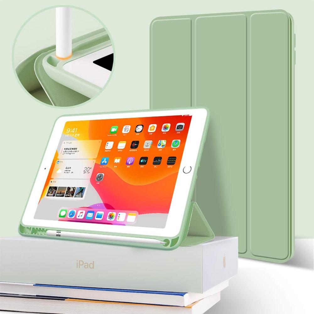 Apple iPad Pro 11 12.9 Air 3 10.5 Air 4 10.9 Mini 5 9.7 iPad 10.2 2020 2019 2018 Flexible TPU Soft Case with Pencil Hold