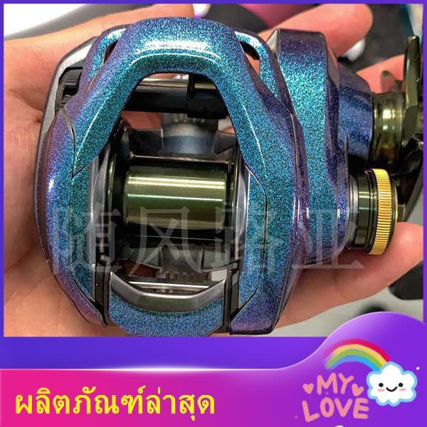 เบ็ดพร้อมรอก คันเบ็ดพร้อมรอก รอกสปินนิ่ง รอกสปิน เบ็ดตกปลา เบ็ดตกปลาพร้อมรอก ♚ฟิล์มล้อหยดน้ำ Shimano 18 Curadu DC ฟิล์มก