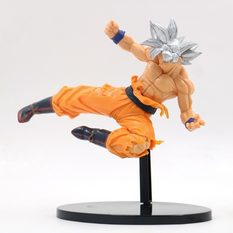 Please COD Dragon Ball Super Ultra Instinct Goku PVC Action Figures Toy Dragon Ball Z Anime Son Goku Super Saiyan FES Fi