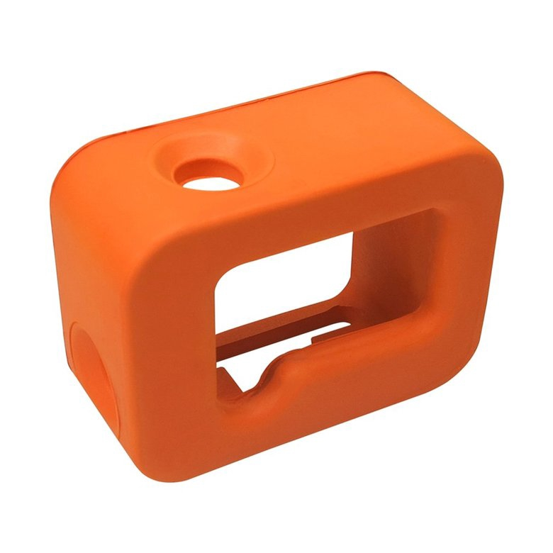 Waterproof Protective Floating Case Soft Diving Cover for GoPro Hero6//5//4//3+ Color:Orange