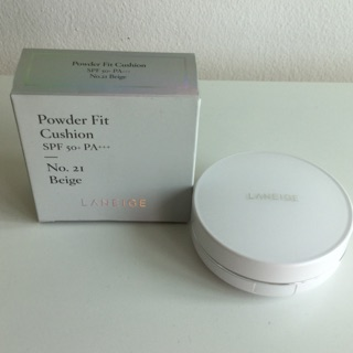 Review *SALE* 300.- หมดอายุ 9/7/2020 Laneige Powder Fit Cushion SPF50+ PA+++ 15g