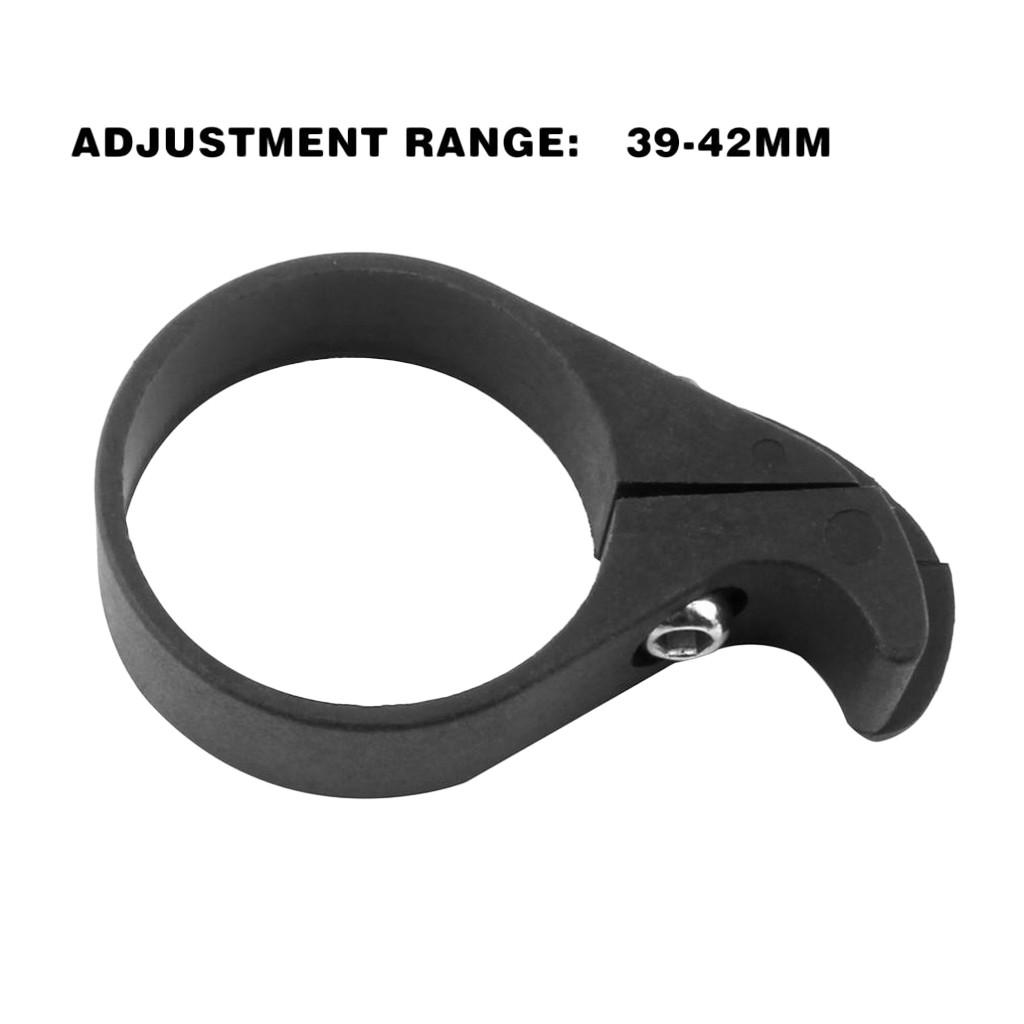 Folding Bike Bicycle Chainwatcher Single Chain Anti-Drop Guide Clamp Black