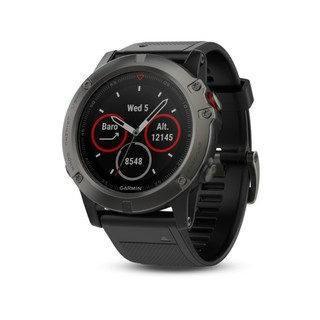 ฉบับภาษาไทยGarmin Fenix 5X Sapphire Multisport GPS Watch Mapping Wrist HR