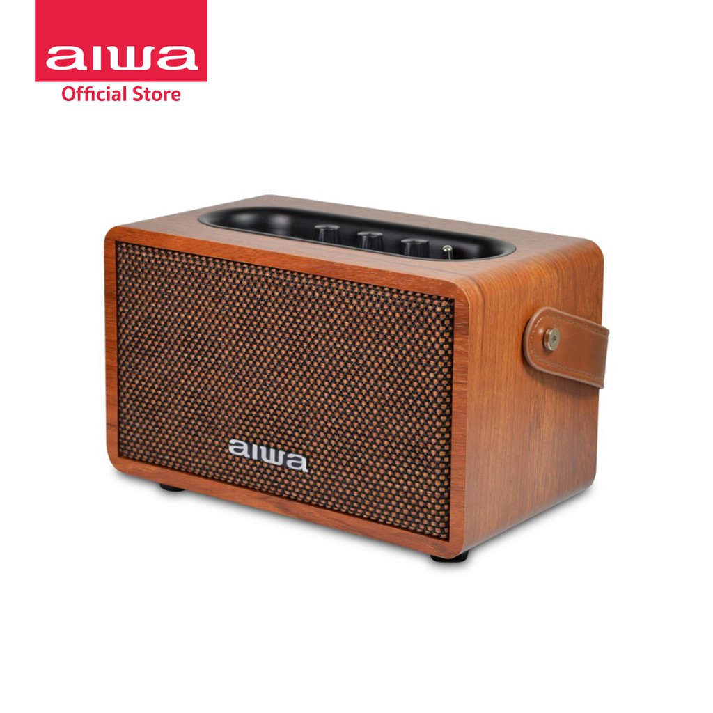 [ผ่อน 0%] AIWA Retro Bluetooth Speaker ลำโพงบลูทูธพกพา BASS++