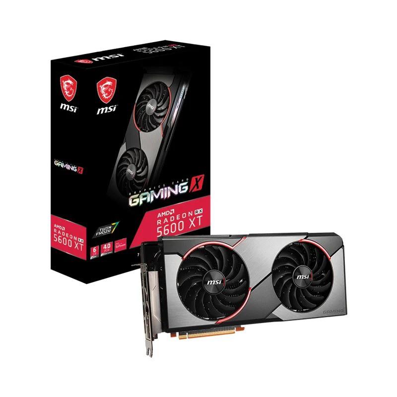 6GB GDDR6 AMD RX5600XT MSI GAMING X