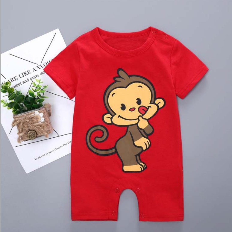 【Hermione 】Kids Gild Baby Infant Toddler Casual Cotton Jumpsuit Romper