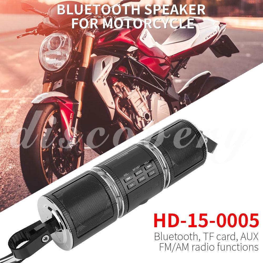 Dis FM/AUX/USB Speaker MP3 Player Motorcycle Waterproof