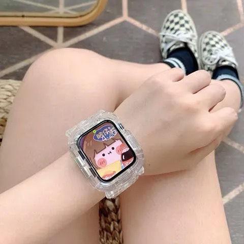 ※※ สายนาฬิกาข้อมือแบบใส Applewatch1 / 2 / 345se6