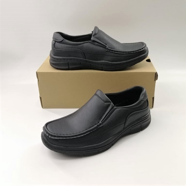 (851-6278) Bata รองเท้าหนังคัชชูผู้ชาย ยี่ห้อบาจา สีดำ เบอร์ 5-11 (38-46) รุ่น 851-6278