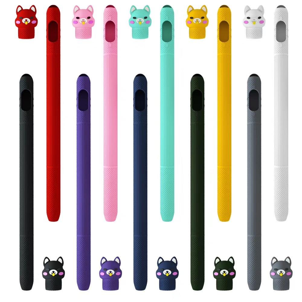พร้อมส่ง/❡เคสปากกาซิลิโลิโคนปลอกปากกาซิลิโคน 苹果笔软硅胶套 1 / 2代 ปลอกปากกาเคสซิลิโคน applepencilเคสปากกาเจน1เคสปากกาเจน2