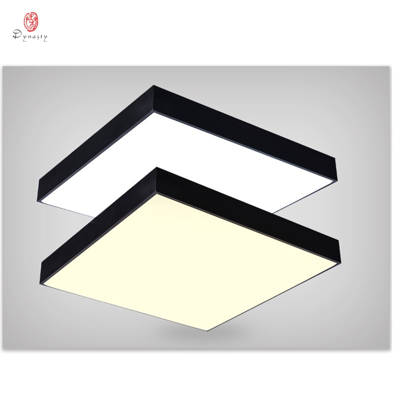Light Simple Square Led Hanging Lights