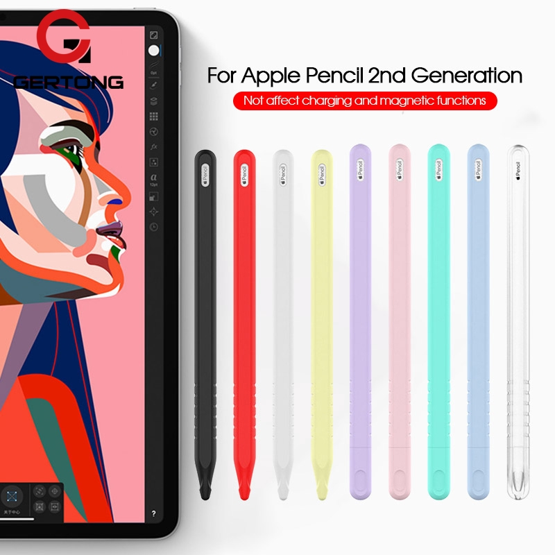 เคสซิลิโคนสำหรับ Apple Pencil 2nd Case Cov