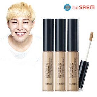 **ของแท้**พร้อมส่ง**The Saem Cover Perfection Tip Concealer SPF 28 PA++