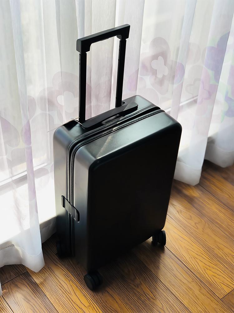 กระเป๋าเดินทางขนาดเล็กสีดำ18กระเป๋าเดินทางขนาดใหญ่20หญิงนักเรียนชายรถเข็น24รหัสผ่าน Pi Xiang Zi28-นิ้ว