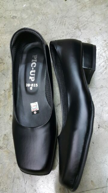 รองเท้าคัชชู สีดำ คัชชูผู้หญิง kfT0
