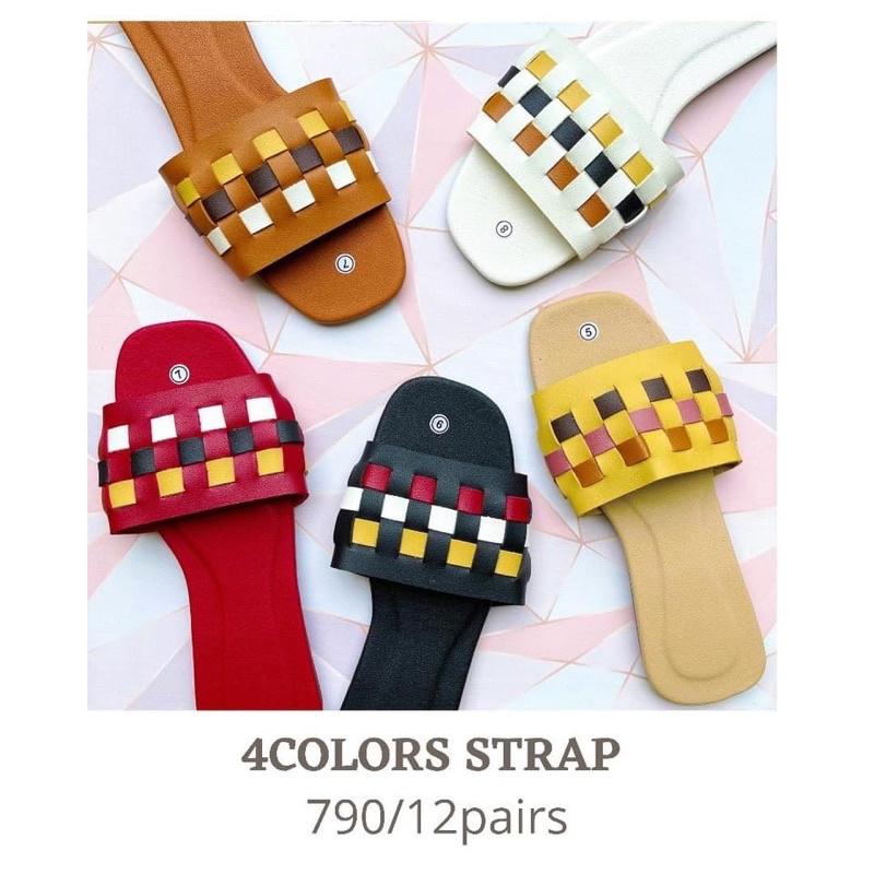 การลดราคา Assorted Slippers M07222-1Dozen Devy
