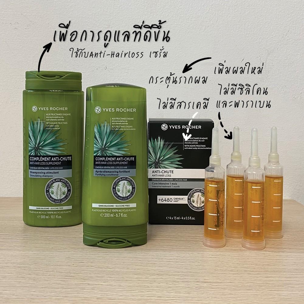 Yves Rocher BHC Anti Hair Loss Shampoo 300ml & conditioner 200ml