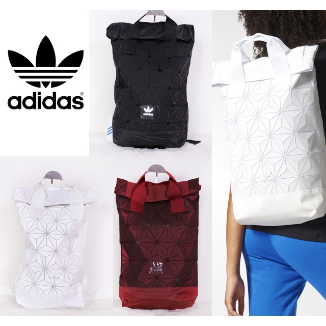 Adidas Originals BP Roll Top 3D Mesh 2017 Backpack Bag DH0100 ... 2318a4fd25aef