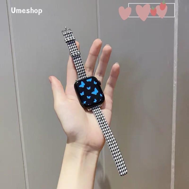 สาย applewatch applewatch series 6 สายนาฬิกา สาย สำหรับ Apple Watch series 1/2/3/4/5/6 SE  38/40/42/44mm สาย W55 /W56 X6