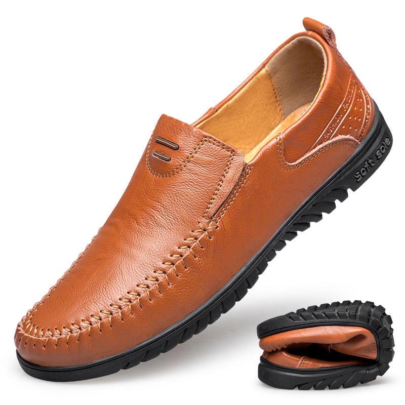 รองเท้าคัชชูชาย สไตล์อังกฤษ รองเท้าหนังผู้ชาย