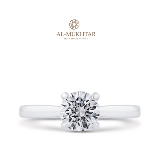 Solitaire GIA Diamond ring