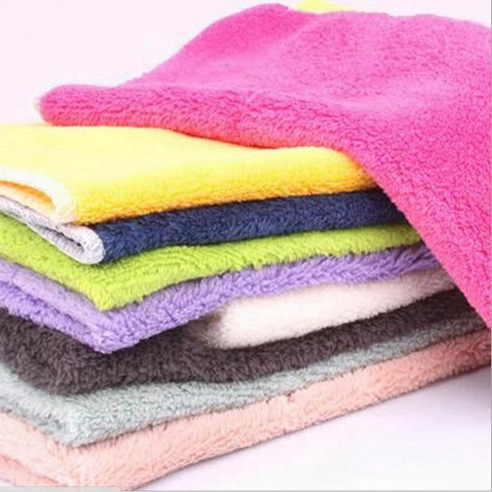ผ้าขนหนูไฟเบอร์สำหรับทำความสะอาดจาน