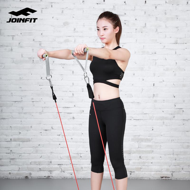 Joinfitเชือกยางยืดออกกำลังกาย การฝึกอบรมความแข็งแรงของผู้ชายเข็มขัดยืดหยุ่นท่อหญิงอุปกรณ์ความตึงเครียดในครัวเรือนอุปกรณ์